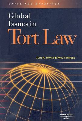 Global Issues in Tort Law - Global Issues (Paperback)