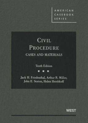 Civil Procedure: Cases and Materials - American Casebooks (Hardcover) (Hardback)