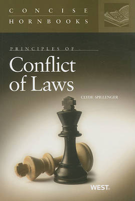 Conflict of Laws - Concise Hornbook Series (Paperback)