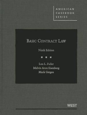 Basic Contract Law - American Casebook Series (Hardback)