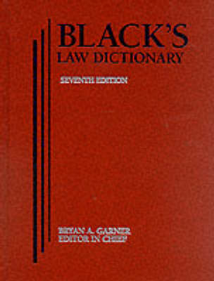 Black's Law Dictionary (Book)