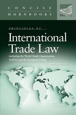 International Trade Law - Concise Hornbook Series (Paperback)
