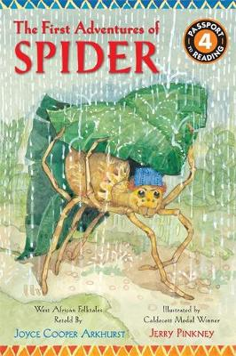 The First Adventures of Spider: West African Folktales - Adventures of Spider (Paperback)