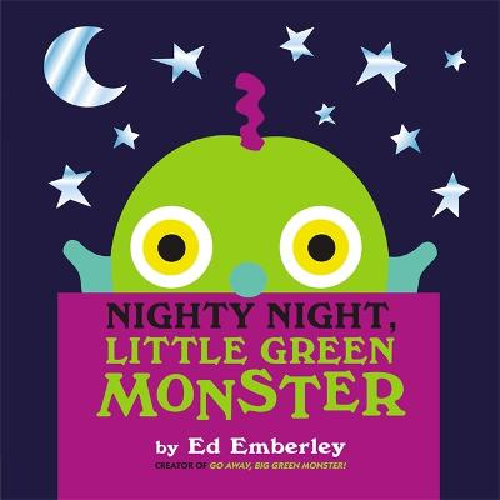 Nighty Night, Little Green Monster (Hardback)