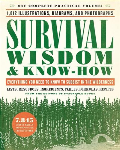 Survival Wisdom & Know How: Everything You Need to Know to Subsist in the Wilderness (Paperback)