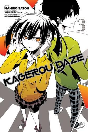 Kagerou Daze, Vol. 3 (manga) (Paperback)