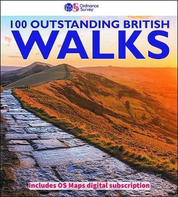100 Outstanding British walks 2018 (Paperback)