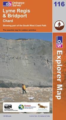 Lyme Regis and Bridport - OS Explorer Map Sheet 116 (Sheet map, folded)