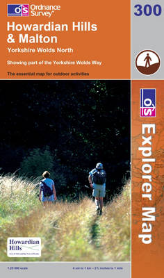 Howardian Hills and Malton - OS Explorer Map Sheet 300 (Sheet map, folded)