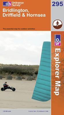 Bridlington, Driffield and Hornsea - OS Explorer Map Active No. 295 (Sheet map, folded)