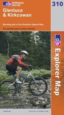 Glenluce and Kirkcowan - OS Explorer Map Sheet 310 (Sheet map, folded)