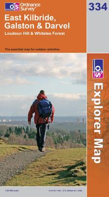 East Kilbride, Galston and Darvel - OS Explorer Map No. 334 (Sheet map, folded)
