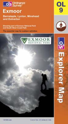 Exmoor - OS Explorer Map Sheet OL09 (Sheet map, folded)