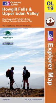 Howgill Fells and Upper Eden Valley - OS Explorer Map Sheet OL19 (Sheet map, folded)
