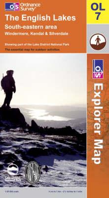 The English Lakes: South Eastern Area - OS Explorer Map Sheet OL07 (Sheet map, folded)