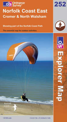 Norfolk Coast East - OS Explorer Map Sheet 252 (Sheet map, folded)