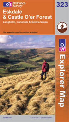 Eskdale and Castle O'er Forest - OS Explorer Map Sheet 323 (Sheet map, folded)