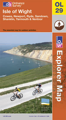 Isle of Wight - OS Explorer Map Sheet OL29 (Sheet map, folded)