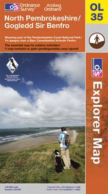 North Pembrokeshire - OS Explorer Map OL35 (Sheet map, folded)