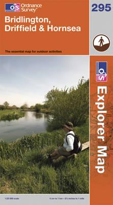 Bridlington, Driffield & Hornsea - OS Explorer Map 295 (Sheet map, folded)