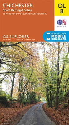 Chichester, South Harting & Selsey - OS Explorer Map OL 08 (Sheet map, folded)