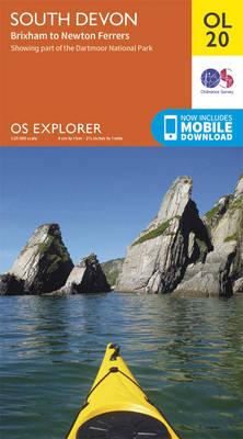 South Devon, Brixham to Newton Ferrers - OS Explorer Map OL 20 (Sheet map, folded)