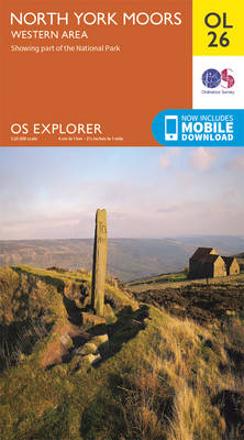 North York Moors - Western Area - OS Explorer Map OL 26 (Sheet map, folded)