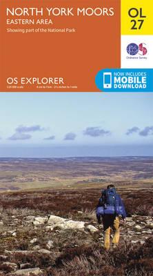 North York Moors - Eastern Area - OS Explorer Map OL 27 (Sheet map, folded)