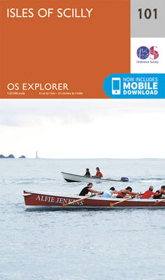 Isles of Scilly - OS Explorer Map 101 (Sheet map, folded)