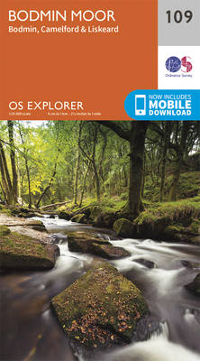 Bodmin Moor - OS Explorer Map 109 (Sheet map, folded)