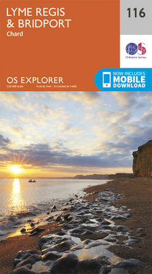 Lyme Regis and Bridport - OS Explorer Map 116 (Sheet map, folded)