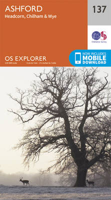 Ashford - OS Explorer Map 137 (Sheet map, folded)