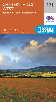 Chiltern Hills West, Henley-on-Thames and Wallingford - OS Explorer Map 171 (Sheet map, folded)