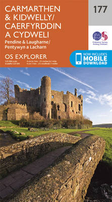 Carmarthen and Kidwelly - OS Explorer Map 177 (Sheet map, folded)
