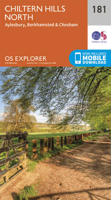 Chiltern Hills North - OS Explorer Map 181 (Sheet map, folded)