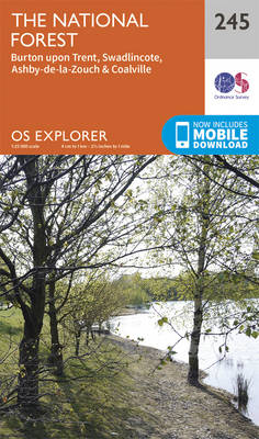 National Forest - OS Explorer Map 245 (Sheet map, folded)