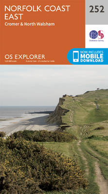 Norfolk Coast East - OS Explorer Map 252 (Sheet map, folded)