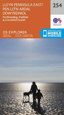 Lleyn Peninsula East - OS Explorer Map 254 (Sheet map, folded)