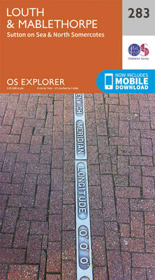 Louth and Mablethorpe - OS Explorer Active Map 283 (Sheet map, folded)