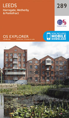 Leeds - OS Explorer Active Map 289 (Sheet map, folded)