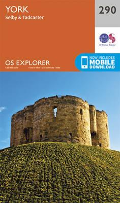 York - OS Explorer Active Map 290 (Sheet map, folded)