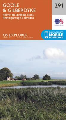 Goole and Gilberdyke - OS Explorer Active Map 291 (Sheet map, folded)