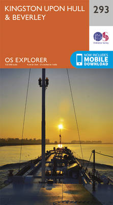 Kingston-Upon-Hull and Beverley - OS Explorer Active Map 293 (Sheet map, folded)