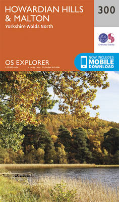 Howardian Hills and Malton - OS Explorer Active Map 300 (Sheet map, folded)