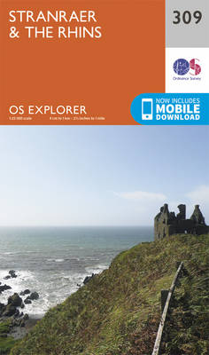 Stranraer and the Rhins - OS Explorer Active Map 309 (Sheet map, folded)
