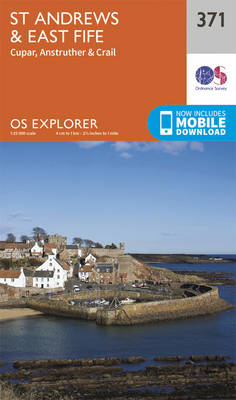 St Andrews and East Fife - OS Explorer Map 371 (Sheet map, folded)