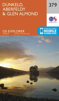 Dunkeld, Aberfeldy and Glen Almond - OS Explorer Active Map 379 (Sheet map, folded)