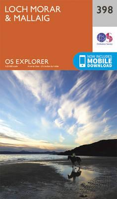 Loch Morar and Mallaig - OS Explorer Active Map 398 (Sheet map, folded)
