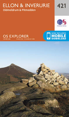 Ellon and Inverurie - OS Explorer Active Map 421 (Sheet map, folded)