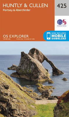 Huntly and Cullen - OS Explorer Active Map 425 (Sheet map, folded)